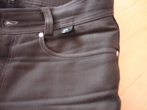 BMW City Black Denim Hose Gr. 50, Alter 3 Jahre