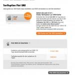 ausgegrauter SMS Flat Button