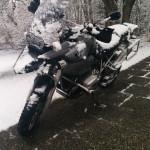 Einmal nimmste die GS und dann schneit es