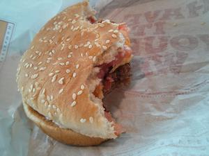 Warum schmeckt ein Burger mit dem Krad besser...