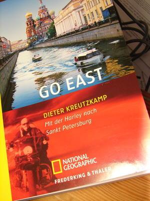 Go east...