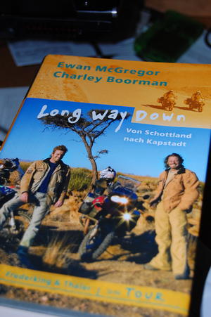Long way down, das Buch…