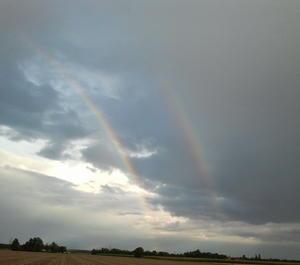 Wie schoen, ein Regenbogen...